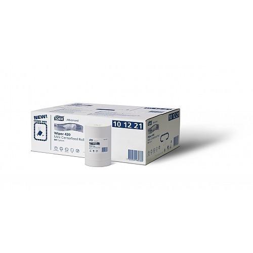 101221 Tork Advanced Wiper 420 Mini Centerfeed Roll