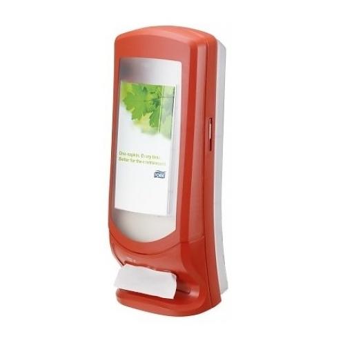 272212 Tork Xpressnap® Stand servetdispenser Rood (N4)