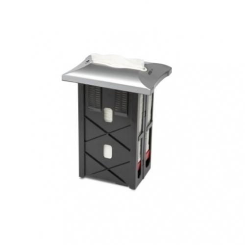 272703 Tork Xpressnap® In-counter servetdispenser RVS-look 30cm (N4)