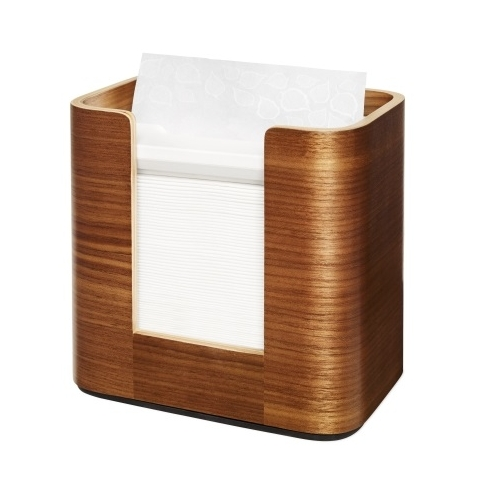 273002 Tork Xpressnap Snack® Tabletop servetdispenser Walnut (N4)