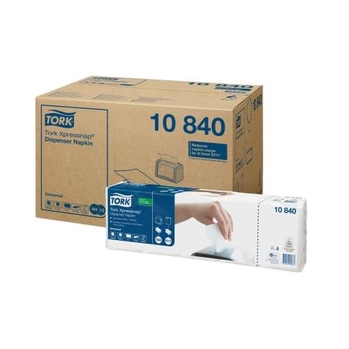 10840 Tork Xpressnap White Dispenser Napkin (N4)